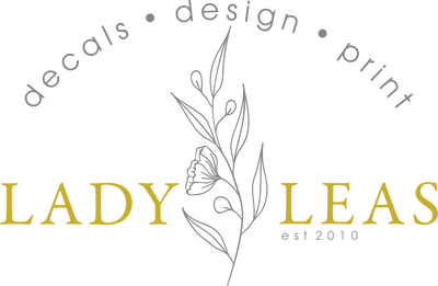 Lady Leas Wall Decals Design and Print Co