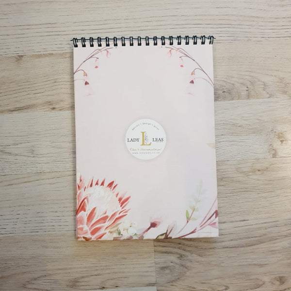 PROTEA PINK NOTEBOOK