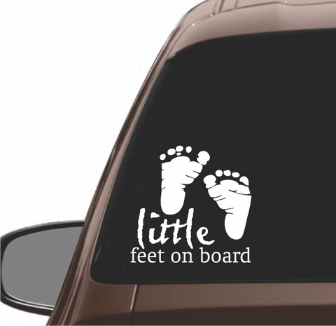 LITTLE FEET  ON BOARD