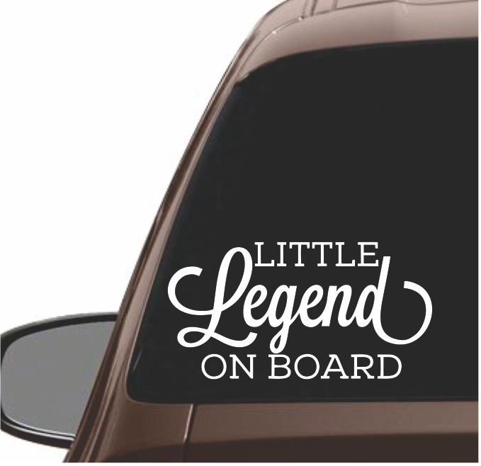 LITTLE LEGEND ON BOARD