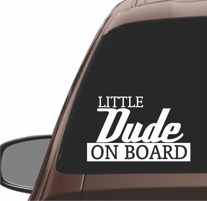 DUDE ON BOARD