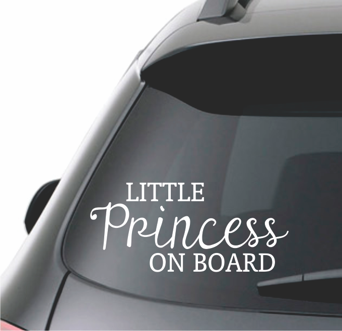 PRINCESS ON BOARD