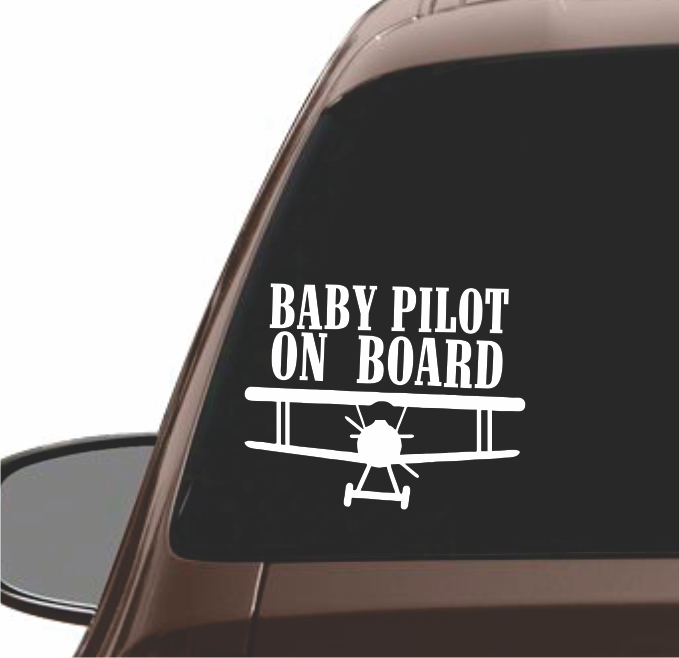 BABY PILOT ON BOARD