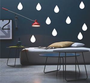 RAINDROPS PATTERN - BIG