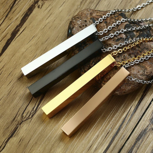 Personalised Custom Bar Necklace