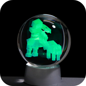Minecraft engraved crystal ball