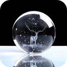 Load image into Gallery viewer, Crystal Luminous Deer Ball