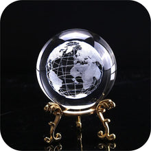 Load image into Gallery viewer, Crystal Luminous Globe Ball