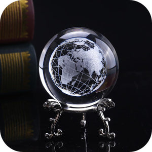 Crystal Luminous Globe Ball