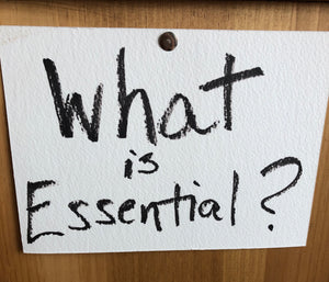 What is essential?