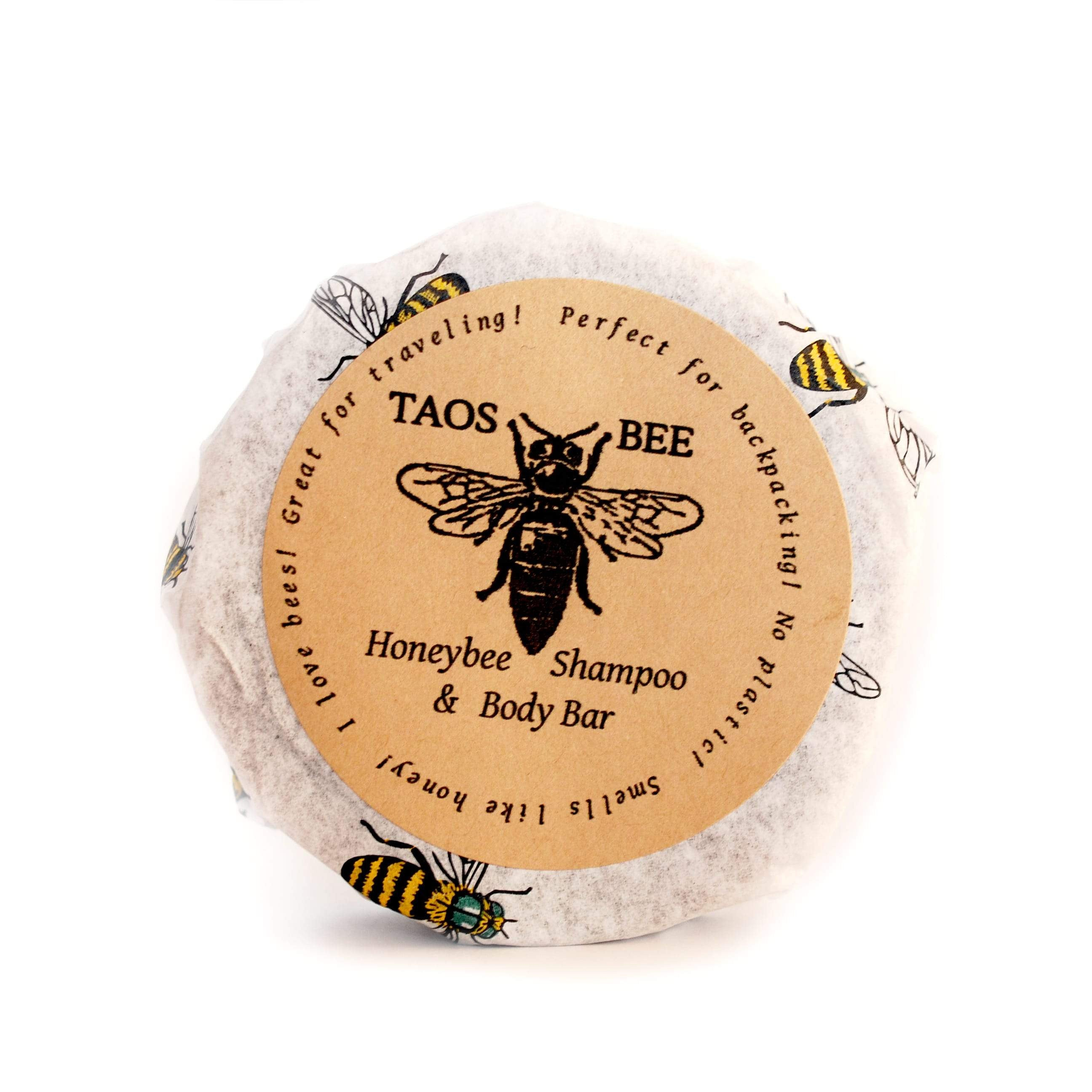 Honeybee Shampoo and Body Bar without a tin