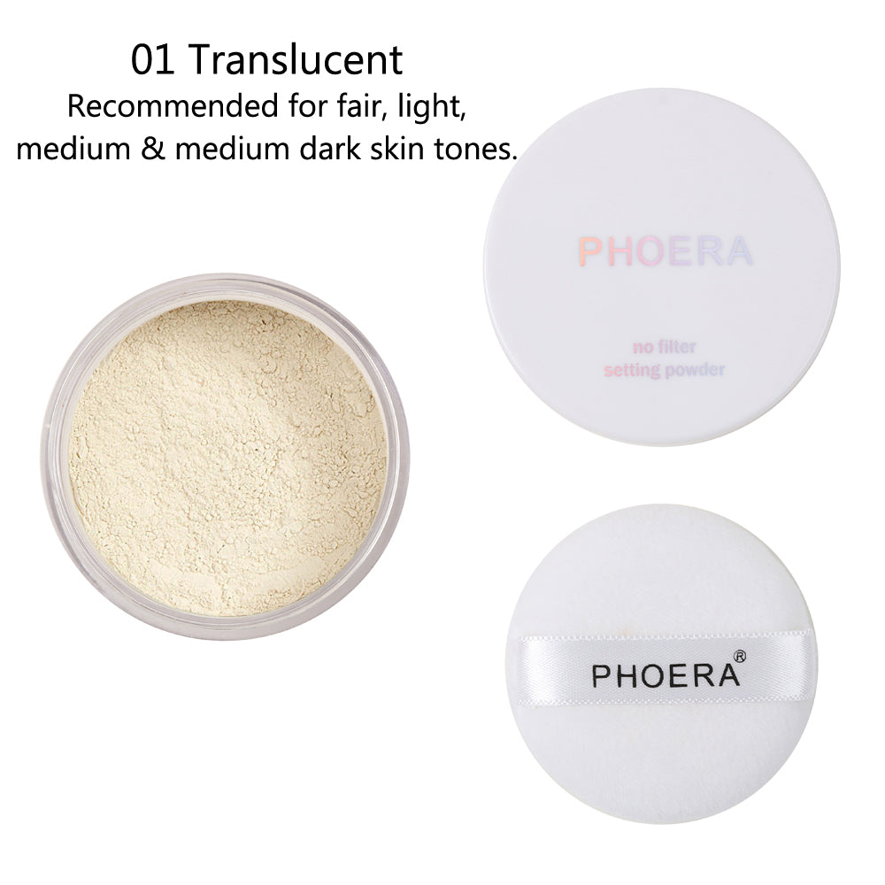 PHOERA No Filter Setting Powder