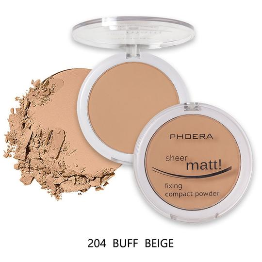 PHOERA Sheer Matte Compact Foundation Powder