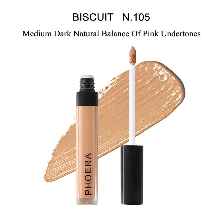 PHOERA Full Coverage Liquid Concealer by  Phoera