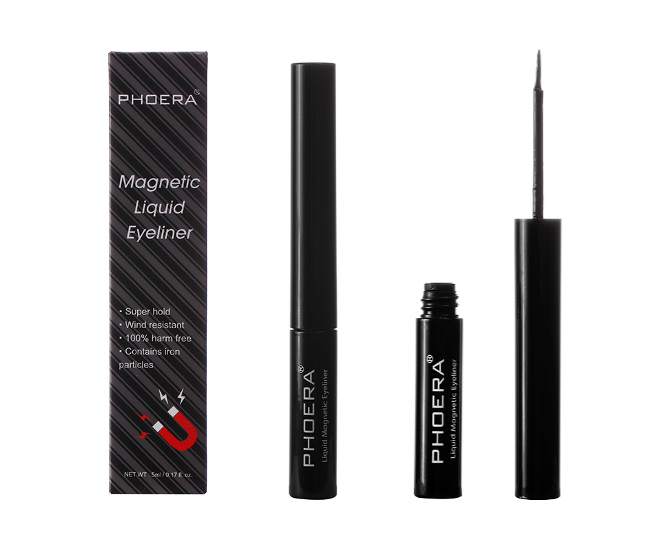 Phoera Magnetic Liquid Eyeliner in Black - Cruelty Free! by Phoera Official