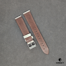 Load image into Gallery viewer, # 61 18/16mm Himalayan Crocodile Leather Strap