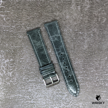 Load image into Gallery viewer, Kvarnsjö Leather Strap in Graphite Grey