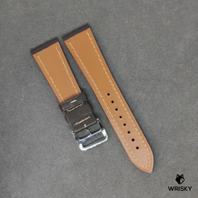 Load image into Gallery viewer, Dark Brown Italian Goat Leather Strap