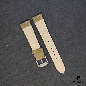 Kvarnsjö Leather Strap in Khaki Brown