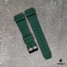 Load image into Gallery viewer, Green Stealth Camo Rubber Strap