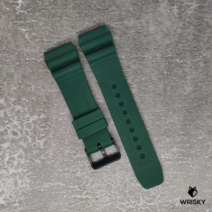 Green Stealth Camo Rubber Strap