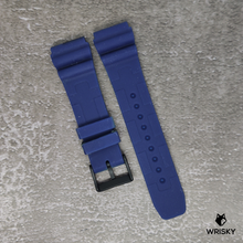Load image into Gallery viewer, Blue Stealth Camo Rubber Strap