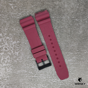 Red Stealth Camo Rubber Strap