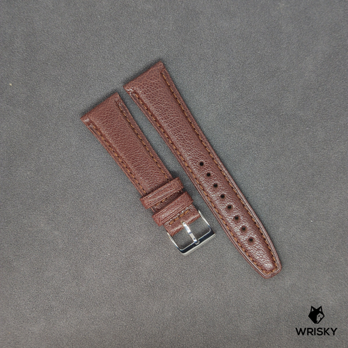 Brown French Goat Leather Strap