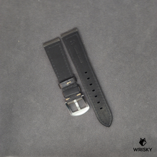 Load image into Gallery viewer, Black Italian Leather Strap