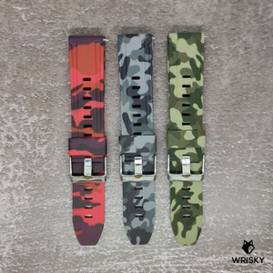 Basic Camo Strap in Grey