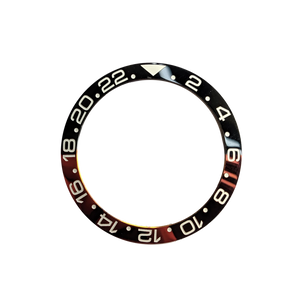 Coke 24 hours GMT Bezel Insert (Red and Black) - Wrisky.co