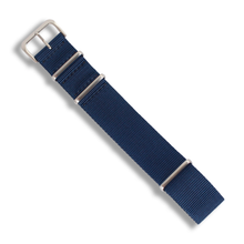 Load image into Gallery viewer, Premium NATO (Deep Navy Blue) - Wrisky.co