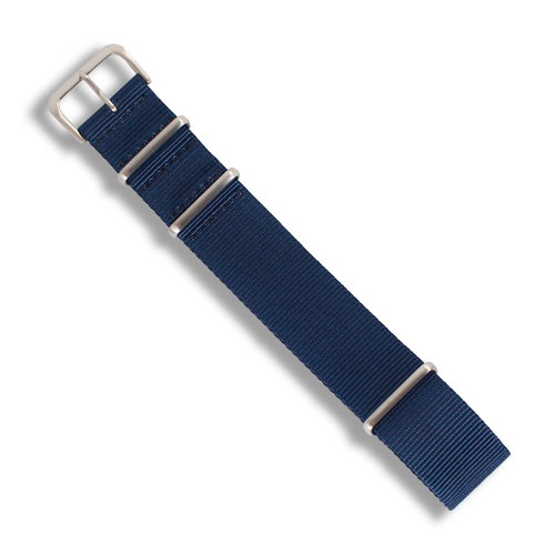 Premium NATO (Deep Navy Blue) - Wrisky.co