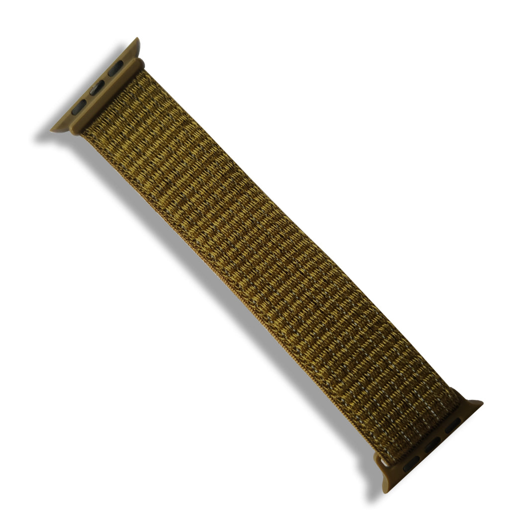 Woven Nylon Band for Apple Watch (Khaki Green)