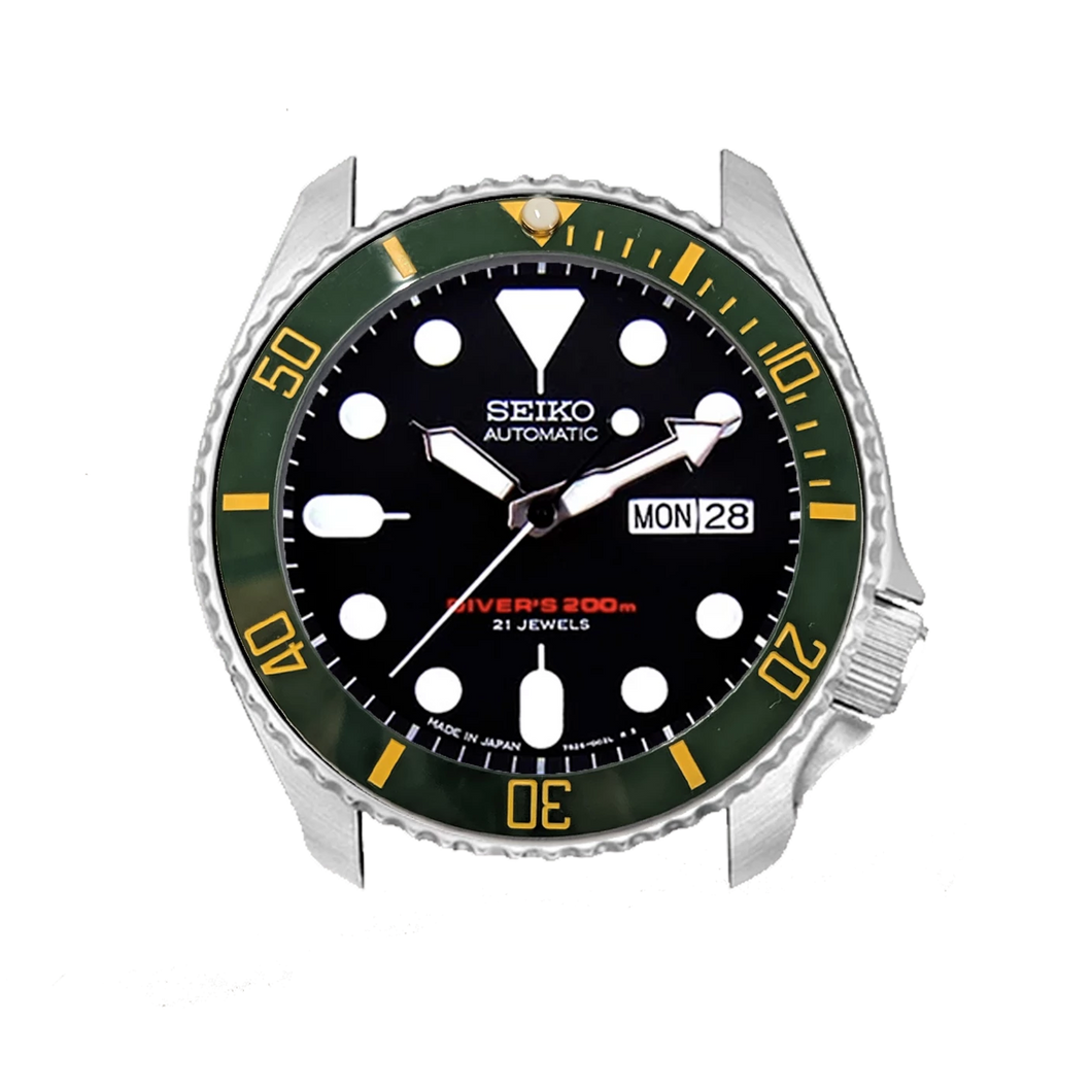 Green-Yellow Submariner Bezel Insert - Wrisky.co