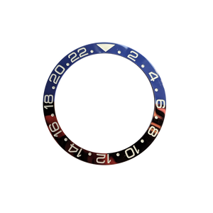Pepsi 24 hours GMT Bezel Insert (Blue-Red) - Wrisky.co