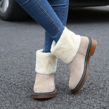 Load image into Gallery viewer, Female Winter Shoes Fur Warm Snow  Ankle Boots