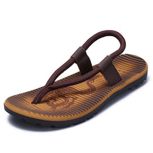 Load image into Gallery viewer, Men Roma Style Color Blocking Light Weight Casual Beach Sandals