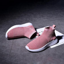 Load image into Gallery viewer, Women Mesh Fabric Sneakers Casual Comfort Breathable Shoes