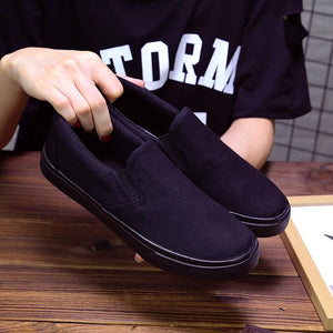 Canvas Shoes Flat Bottom Non-slip Women's Loafers