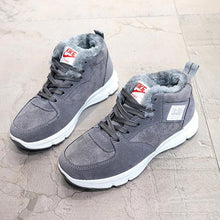 Load image into Gallery viewer, Women Winter Outdoor Sneakers Hiking Warm Lining Lace Up Shoes