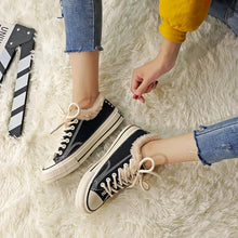 Load image into Gallery viewer, Womens Casual Canvas Chic Warm Sneakers