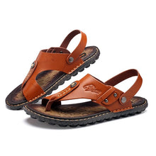 Load image into Gallery viewer, Large Size Men Two Way Wearing Comfortable Cool Beach Sandals