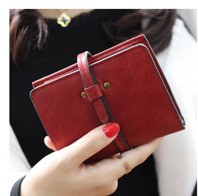 Clutches Bag PU Leather Travel Passport Wallet