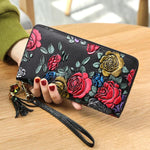 BANYANU Vintage Multi-slots Wallet Phone Bag