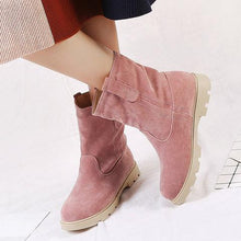 Load image into Gallery viewer, Womens Larger Size Simple Winter Snow Boots