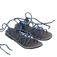 Load image into Gallery viewer, Women Shoes Casual Summer Lace Up Beach Sandals