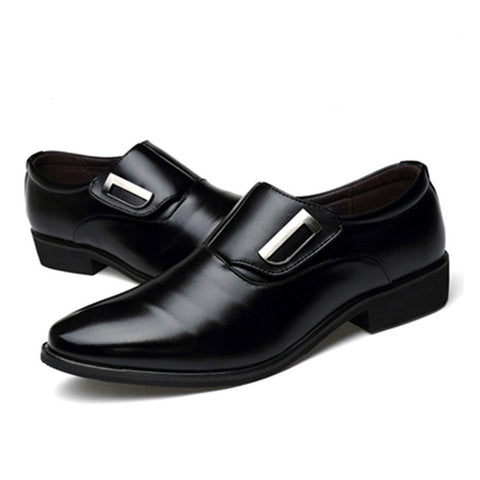 Plus Size Magic Tape Formal Shoes