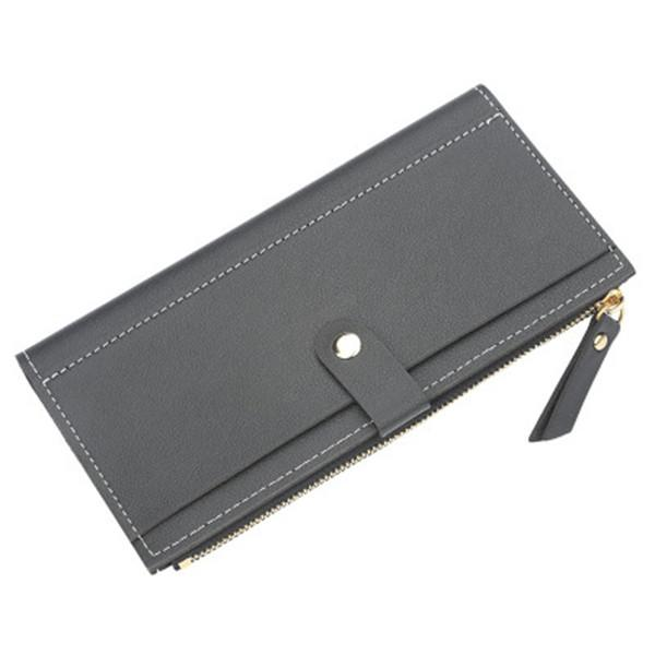 Baellerry Women Multi-slots Elegant Long Wallet Card Holder Purse