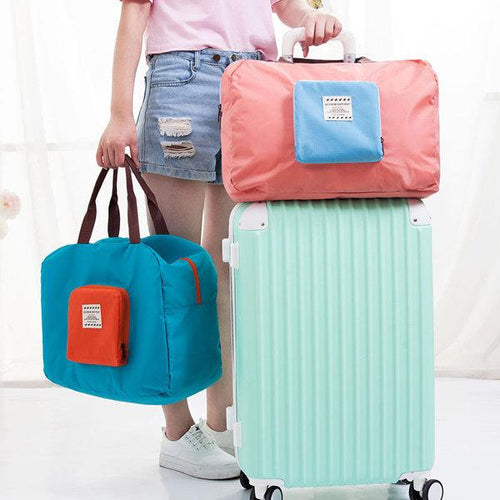 Casual Lightwieght Folding Multi-functional Storage Bag Luggage Bag